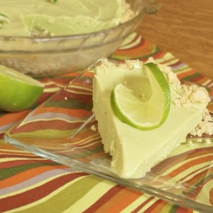Lime Creamsicle Tortilla Crunch Pie