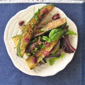 Grilled Zucchini with Kalamata Olives