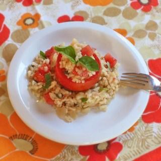 Tomato Basil Risotto   TeaspoonofSpice.com