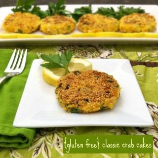Gluten Free Classic Crab Cakes | Teaspoonofspice.com