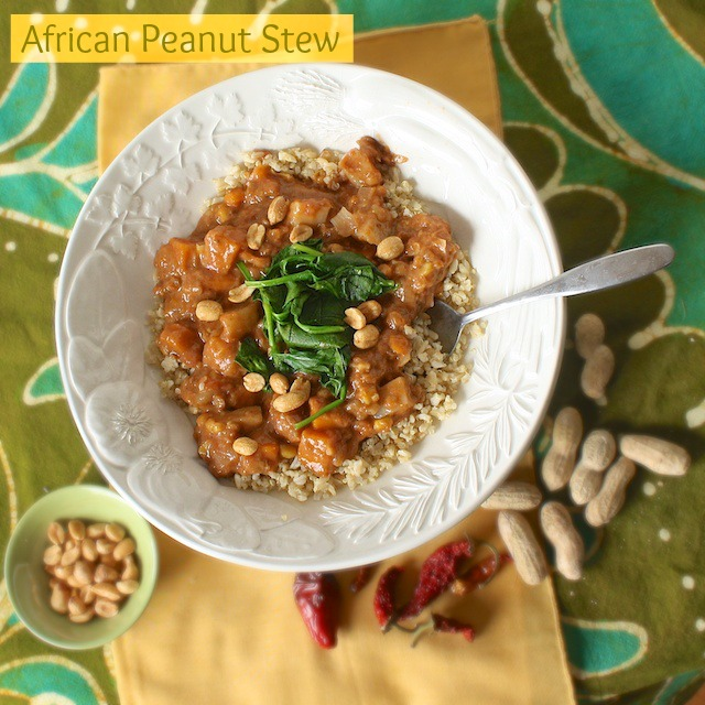 African Peanut Stew with Quinoa | @TspCurry