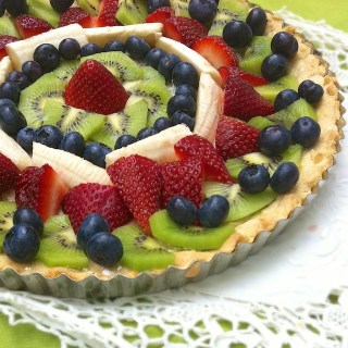 German Fruit Tart