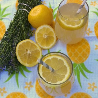 Herbal Lemonade with Blue Hyssop