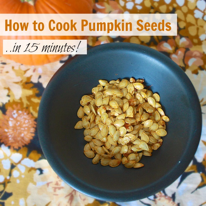 How to Cook Pumpkin Seeds in 15 minutes | Teaspoonofspice.com