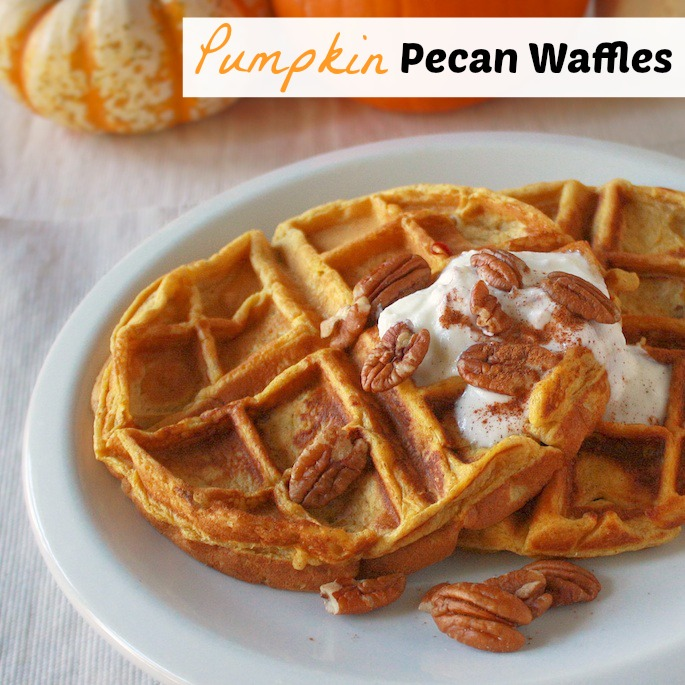 How to make Pumpkin Waffles - Which Frozen Waffles are Healthy