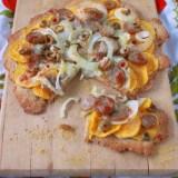 Butternut Squash & Sausage Pizza | Teaspoonofspice.com
