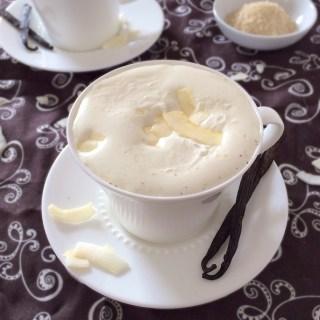 Vanilla Coconut Milk Steamer   Teaspoonofspice.com