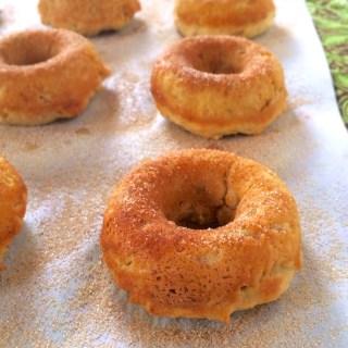 Mashed Potato Baked Donuts