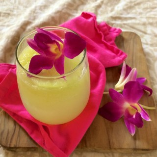 Sparkling Orchid Cucumber Limeade   Teaspoonofspice.com