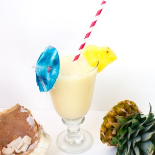 Got a hammer? Then you can crack a coconut for: FRESH COCONUT PINA COLADAS | @TspCurry