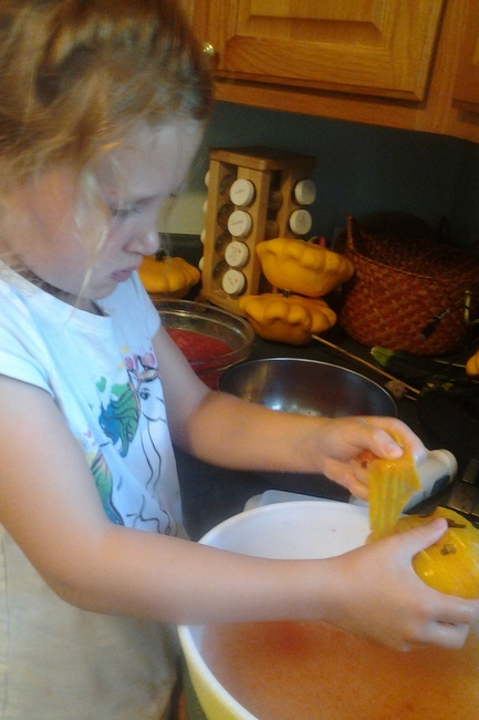 Canning with Kids | TeaspoonOfSpice.com