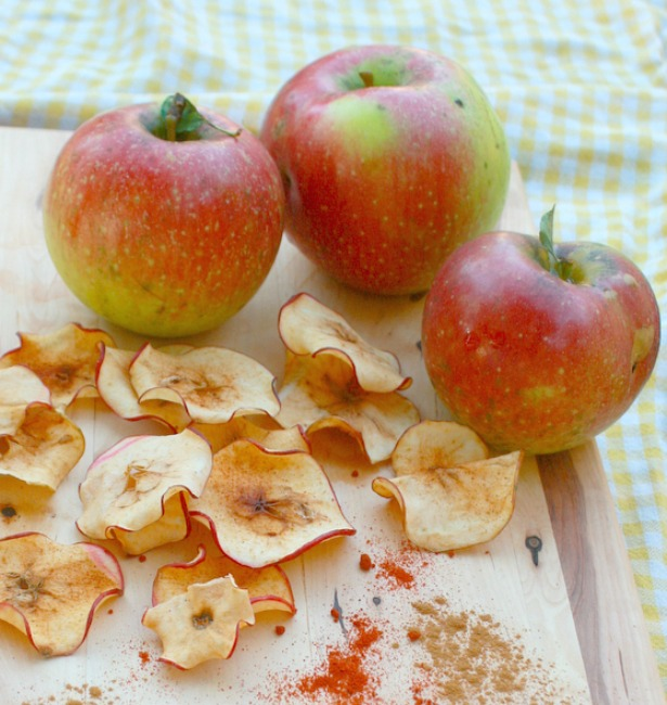 Sweet Ginger Pear Chips | TeaspoonOfSpice.com