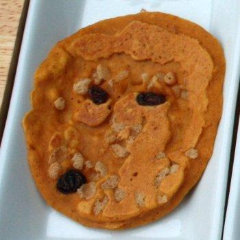Pumpkin pancake Pinterest fail via @tspcurry