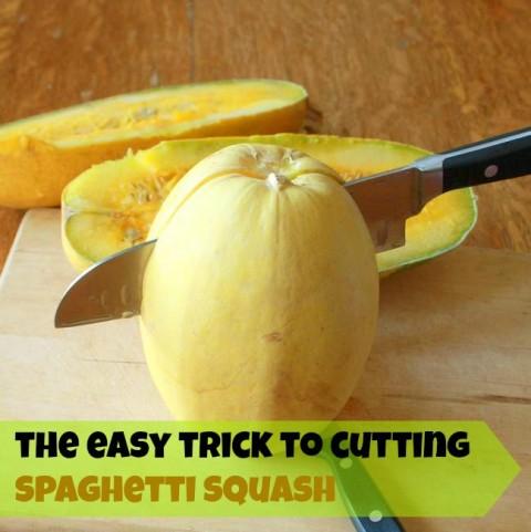 Easily Cut Spaghetti Squash