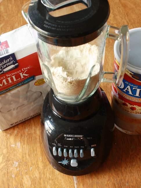 instant dry milk powder