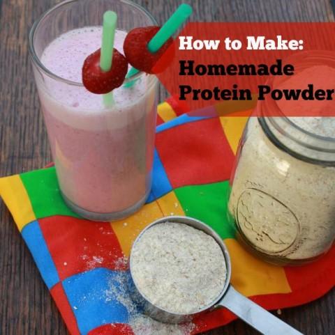 #HealthyKitchenHacks How to Make Homemade Protein Powder