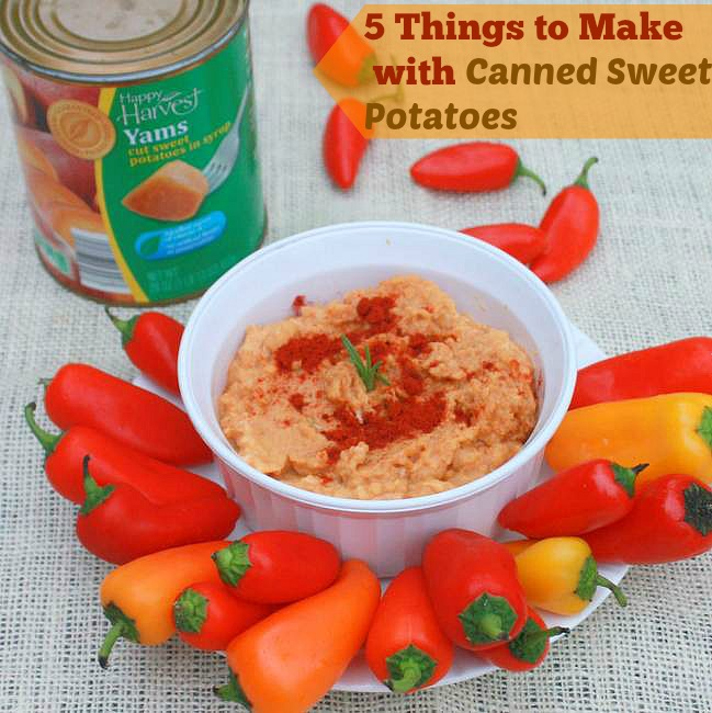 5 things to make with canned sweet potaoes