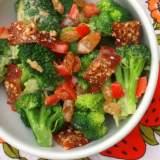 Broccoli and Bacon Salad | TeaspoonOfSpice.com