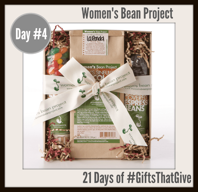 #GiftsThatGive: Day #4 Women's Bean Project