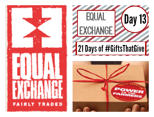 Day 13 of #GiftsThatGive: Equal Exchange