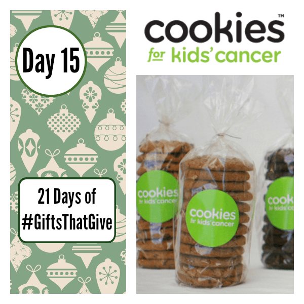 Day 15 of #GiftsThatGive: Cookies for Kids' Cancer