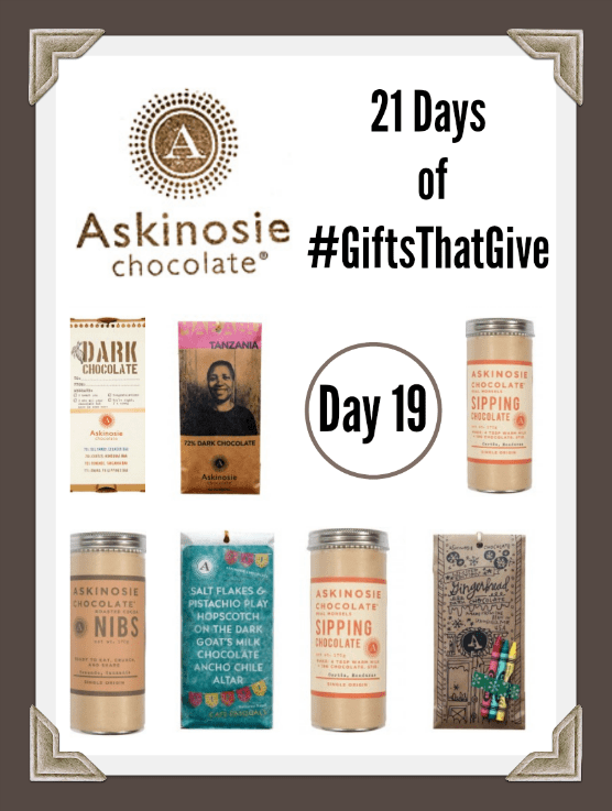 Day 19 #GiftsThatGive: Askinosie Chocolate
