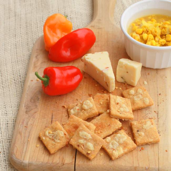 club cornbread crackers