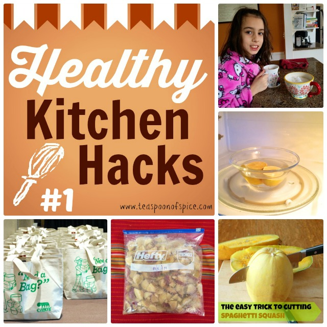 Healthy Kitchen Hacks #1 | Teaspoonofspice.com