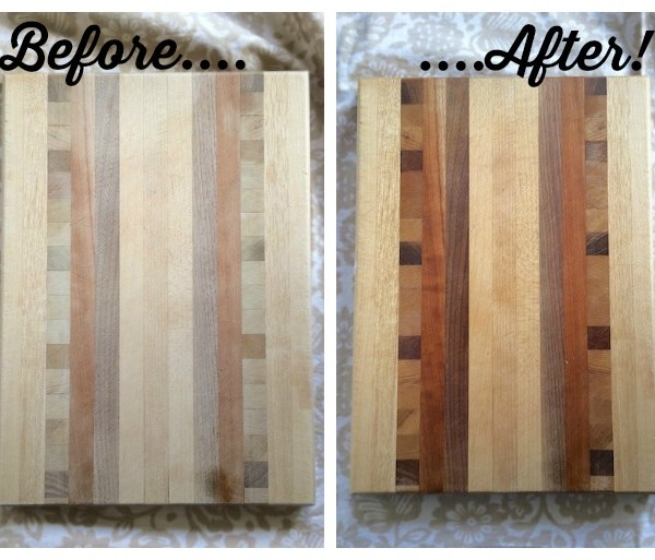 #HealthyKitchenHacks: How to Clean & Restore Wood Cutting Boards