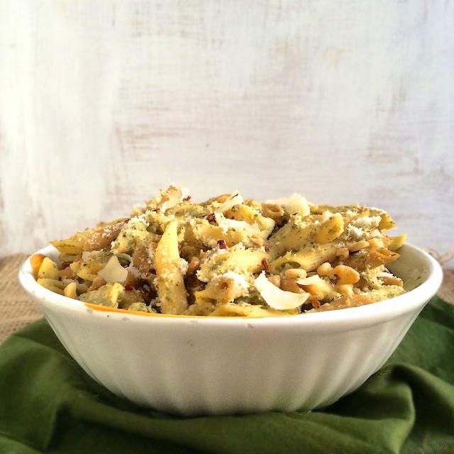 Roasted Broccoli Pasta Sauce | Teaspoonofspice.com