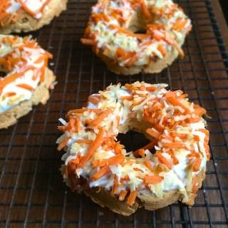 Carrot Coconut Baked Donuts teaspoonofspice.com @tspbasil