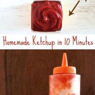How To Make Homemade Ketchup in 10 Minutes – 2 Ways | The Recipe ReDux