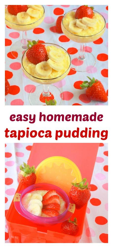 Fluffy, creamy: Easy Homemade Tapioca Pudding   TeaspoonOfSpice.com