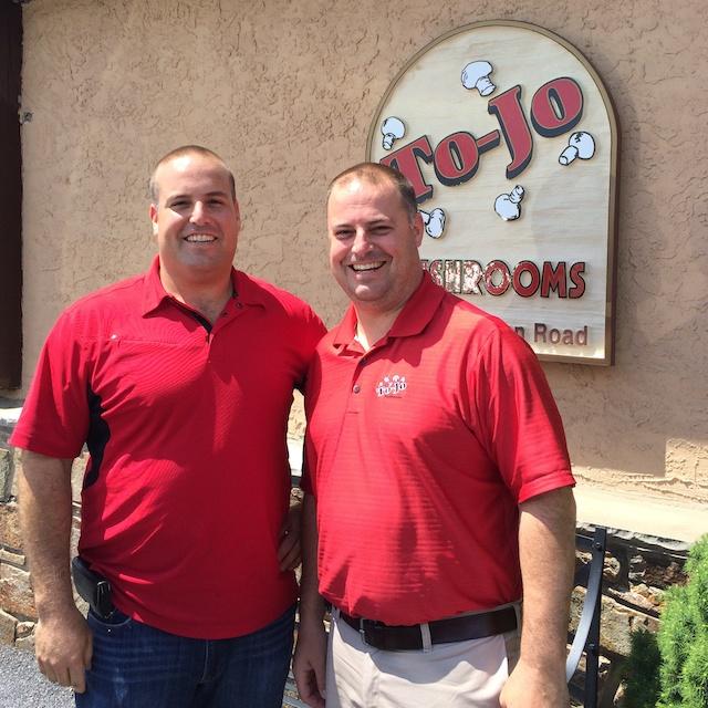 Tony and Joe D'Amico - 4th generation owners of To-Jo Mushrooms via @tspbasil