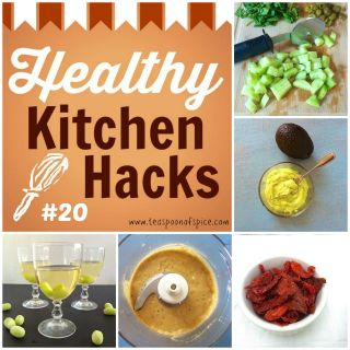 #HealthyKitchenHacks - Use a pizza cutter to chop salad, How to Make Non Dairy Dressing Creamy, Chill Your Glass of Wine without Ice Cubes, How To Make Sun-Dried Tomatoes, What to Do with Overripe Avocado @tspbasil #cookinghack #kitchenhacks