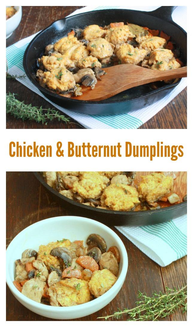 Chicken and Butternut Dumplings | @tspcurry