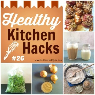 #HealthyKitchenHacks: How to Make Instant Roux, Make Cappuccinos at Home without Machine, Knife Trick for Fruits & Veggies, Vegan Cream Sauce Made From Onions @tspbasil