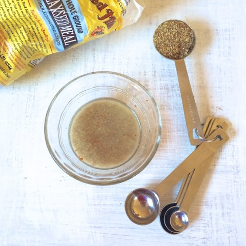 Healthy Kitchen Hacks - How To Make a Flax Egg