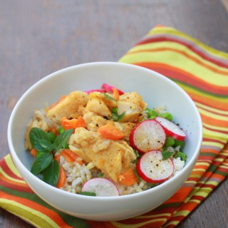 Curry Rice Bowl Tilapia | @tspcurry