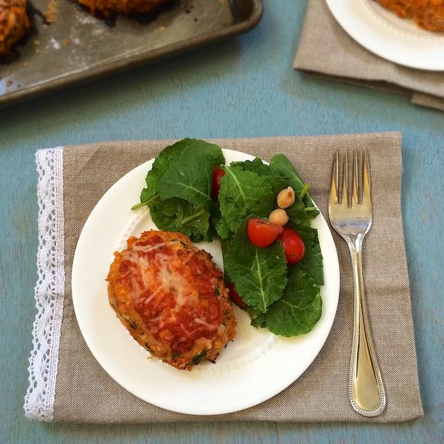 Mini Turkey Pizza Meatloaves | Teaspoonofspice.com