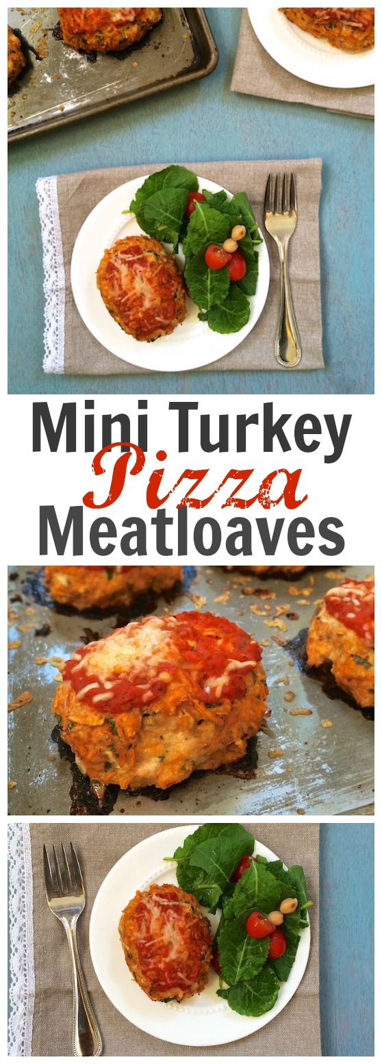 Your new family favorite dinner: mini meatloaves made with ground turkey, sweet potatoes, pizza sauce and cheese. @tspbasil