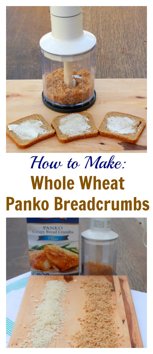 So tasty and easy. You'll never go back to packaged: How to Make Whole Wheat Panko Breadcrumbs | @TspCurry
