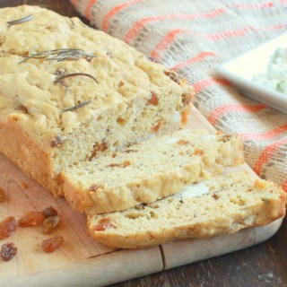 Savory Rosemary Goat Cheese Quick Bread