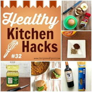 Healthy Kitchen Hacks: Cook Pasta in Red Wine, Clever Way to Pack Apple In Lunch, 3-Ingredient Coffee Spice Run, Trick to Make Ground Meat Healthier, Hack for Non-Spill Cooking Oil @tspbasil