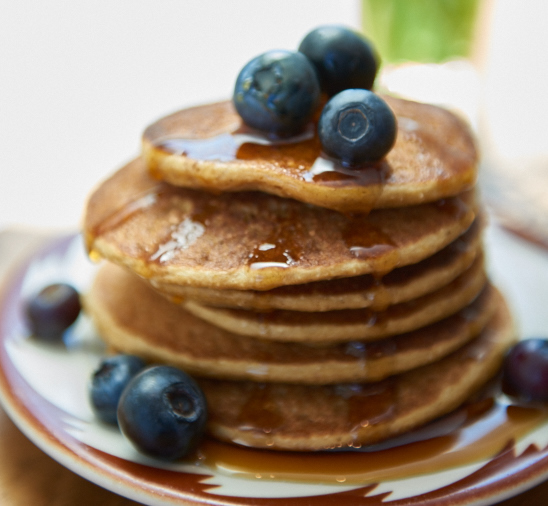 Fluffiest Pancakes | @TspCurry