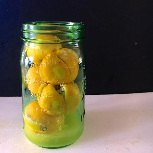 Healthy Kitchen Hacks- Easy Preserved Lemons @tspbasil