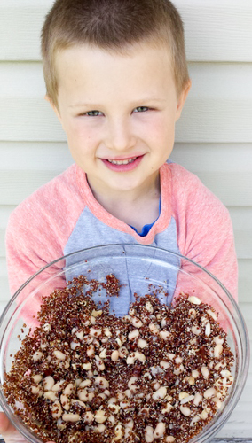 Tips to get kids cooking | @tspcurry
