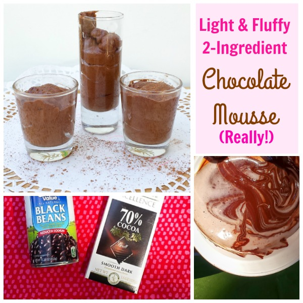 #HealthyKitchenHacks - Delicious Aquafaba Chocolate Mousse | @TspCurry