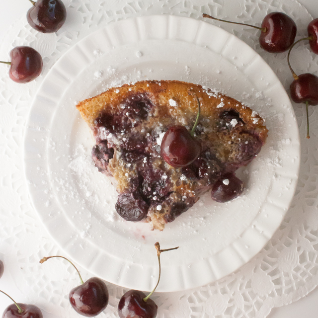 Cherry Clafoutis | @tspcurry