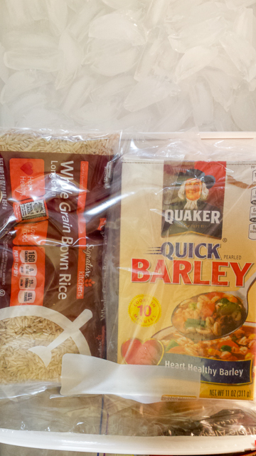 #HealthyKitchenHacks - How to Store Whole Grains | @TspCurry